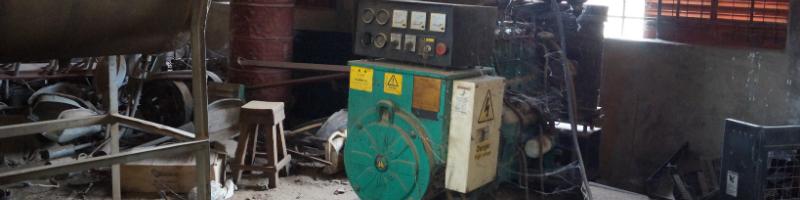 Dieselgenerator, Strom