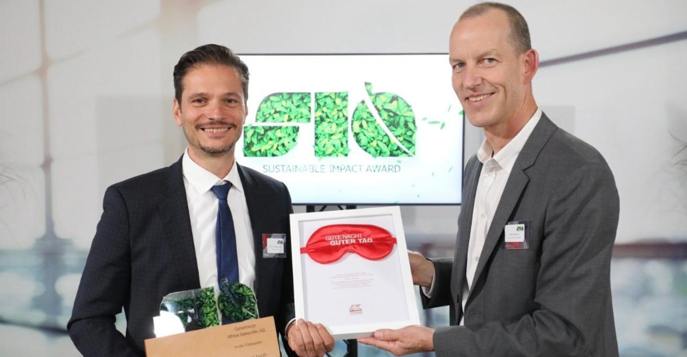 Award, sustainable